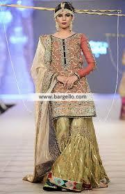 wedding clothes bridal gharara dresses fahad hussayn bridal gharara