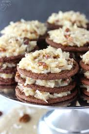 german chocolate cookie stacks life love and sugar