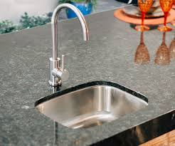 under mount sink with faucet for your outdoor kitchen summerset