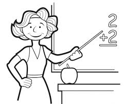 teacher coloring pages teacher appreciation coloring pages to