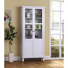 Glass Door Cabinet Walmart Homestar 2 Door Storage Cabinet Walmart
