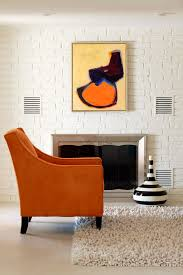 Orange Shag Rugs Orange Shag Rug Living Room Eclectic With Accent Colors Area Rug
