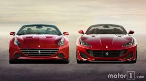 Ferrari California Evo - ferrari portofino 2018 vs ferrari california 2009 motor1 com