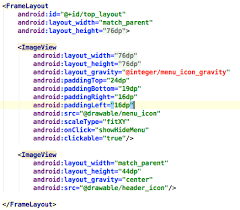 layout gravity android studio set layout gravity from integers resource file