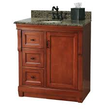 foremost naples 31 in w x 22 in d bath vanity with right drawers