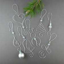 Easy Beaded Christmas Ornaments - best 25 ornament hooks ideas on pinterest wire ornaments
