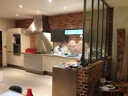 cuisine style loft industriel deco loft yorkais stunning stunning mur interieur en brique