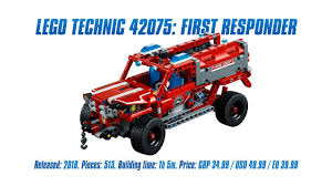 sariel pl mustang technic 42075 first responder in depth review speed build