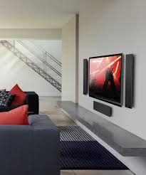 Living Room Speakers T301 Ultra Thin On Wall Surround Sound Satellite Speakers Kef Direct