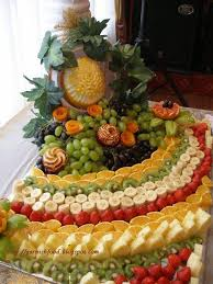 fruit displays garnishfoodblog fruit carving arrangements and food garnishes