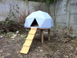 thats how geodesic dome chicken house