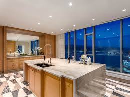 Vancouver Kitchen Island by Inside 58 Million Vancouver Penthouse Most Expensive In History