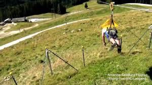 antenne salzburg flying fox flugtag leogang youtube