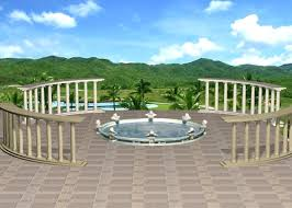 3d Home Landscape Design Free Download by Landscape Architecture Design 3d Model 3ds Max Files Free Download