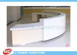 Commercial Reception Desk Commercial White Mdf Arc Reception Desk For Service