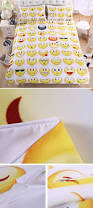 Cute Bedspreads Beddingoutlet Emoji Bedding Set Cute And Fashion Duvet Cover For