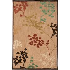 Indoor Outdoor Rugs Ikea Floors U0026 Rugs Brown With Design Blossom Tree 3x5 Rugs For