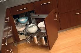 Kitchen Corner Cabinet Storage Solutions Corner Cabinets Turntable Shelves Dura Supreme Cabinetry