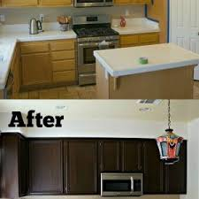 ideas for redoing kitchen cabinets decor refinish kitchen cabinets unthought ideas thecritui
