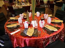 Ideas For New Years Table Decorations by New Year U0027s Table Decorating And Design Ideas