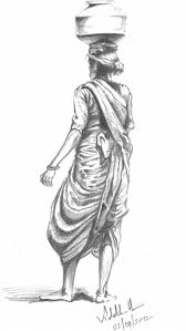 best pencil sketches of women drawing art library