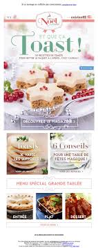 newsletter cuisine la galerie de newsletters the mailing book