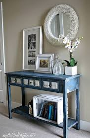 entry way table ideas 15 inspirations of mirrored entryway table