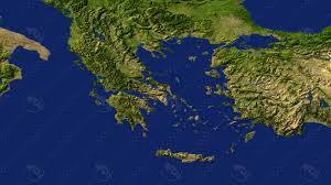 Greece Maps by Maps 3d Model