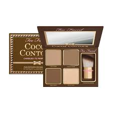 contouring and highlighting makeup kits too faced