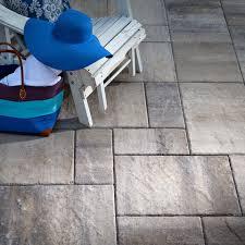 pavers patios grey charcoal lafitt grana slab natural