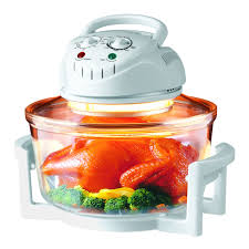 1300w kitchen hometech wave halogen oven 17 quart cooker roast
