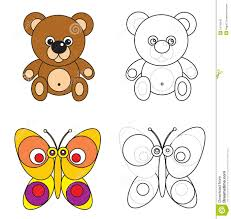 bear kids drawing royalty free stock images image 14245319