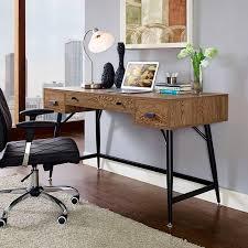 Office Desk Walnut 238 39 Surplus Office Desk In Walnut D2d Furniture Store