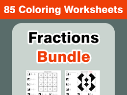 convert decimals to fractions coloring worksheets by bios444