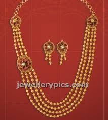 d damas gold earrings jewellery design pictures gold gundla mala from damas bhima
