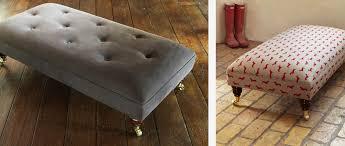 Foot Stools  Pouffes Sofa Workshop - Sofa and footstool