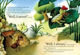 ant and grasshopper book by luli gray giuliano ferri official