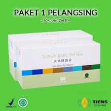 Teh Tiens jual pelangsing badan tiens paket 1 murah 2 teh free member