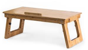 eco friendly bamboo sitting to standing desk converter with