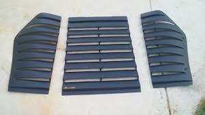 camaro iroc z parts need 82 92 camaro iroc z rear window louvers third generation