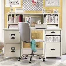 Desks With Hutches Storage Chatham Large File Storage Desk Hutch Pbteen