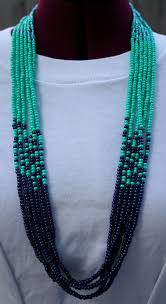etsy beads necklace images The hanalei multi strand necklace on etsy 40 00 etsy shop jpg