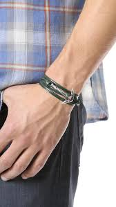 leather wrap bracelet with anchor images Projects design miansai anchor bracelet women images maritime sail jpg