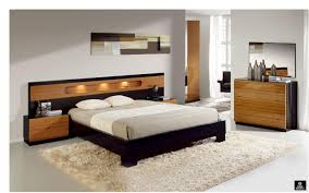 bedroom simple design ideas of king headboard with brown color