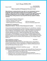 George Washington Resume As You Wish To Be An Applicant Tracking System Ats You Should