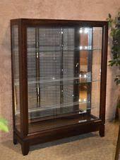 Pulaski Curio Cabinet Used Pulaski Glass Cabinets U0026 Cupboards Ebay