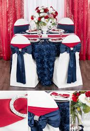 Fourth Of July Tablecloths by 5 Ways To Throw A Refined 4th Of July Wedding Cv Linens Design Blog