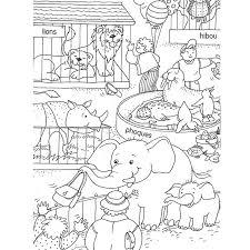 zoo 2 animaux u2013 coloriages à imprimer