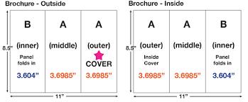 adobe indesign tri fold brochure template brochure setup using adobe indesign master pages a