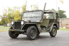 ford jeep classic 1968 ford m151a military radio jeep off road for sale